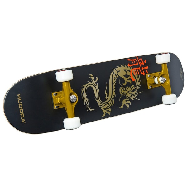 "Hudora Skateboard ABEC 7 ""Golden Dragon"""