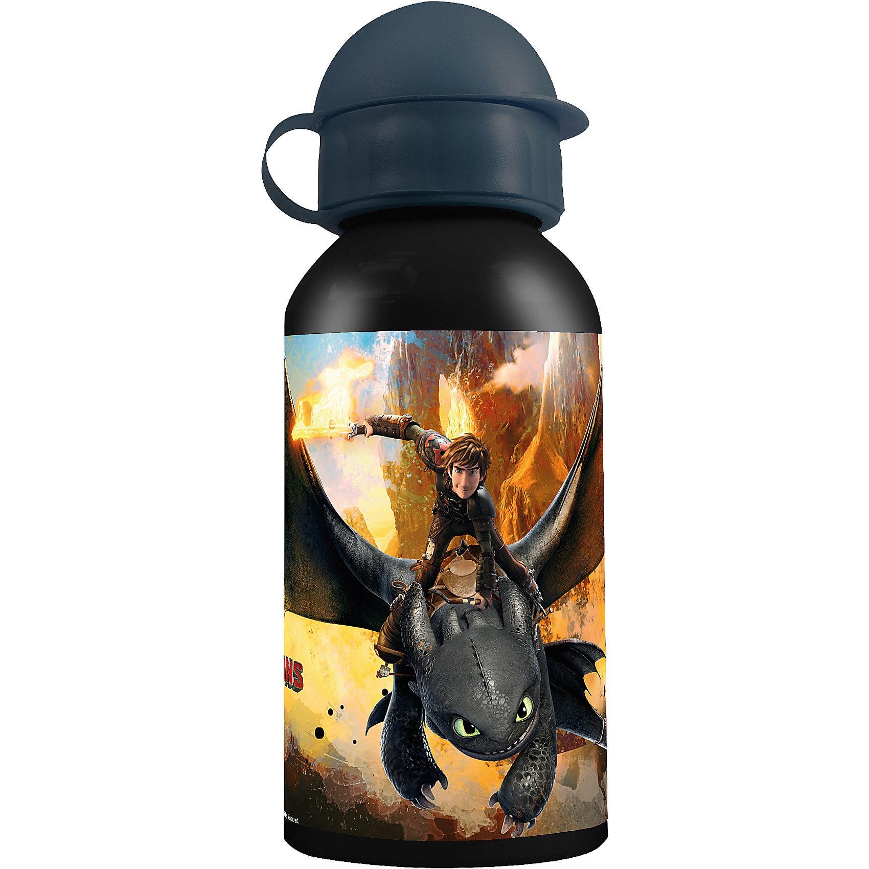 P:OS Alu-Trinkflasche Dragons 400 ml