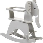 Childhome Schaukelelefant inkl. Sicherheitsbügel grau