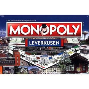 Winning Moves Monopoly Stadtausgabe Leverkusen Spiel