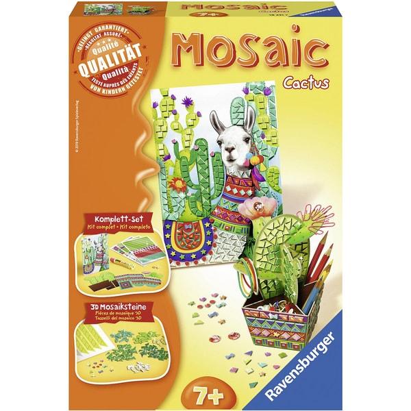 Ravensburger 2-Tlg. Mosaic Set Midi Lama Kaktus