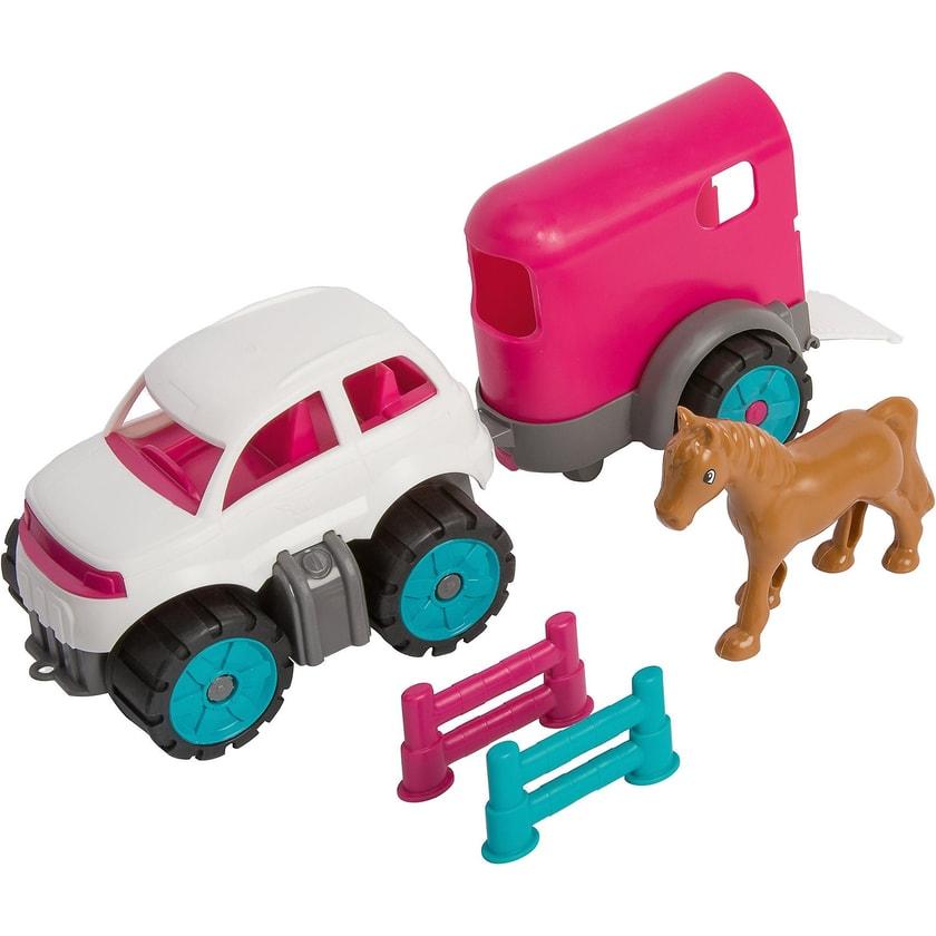 BIG Power Worker Mini Ponytransporter-Set
