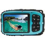 easypix Unterwasser Digitalkamera Aquapix W1627 Ocean Blau