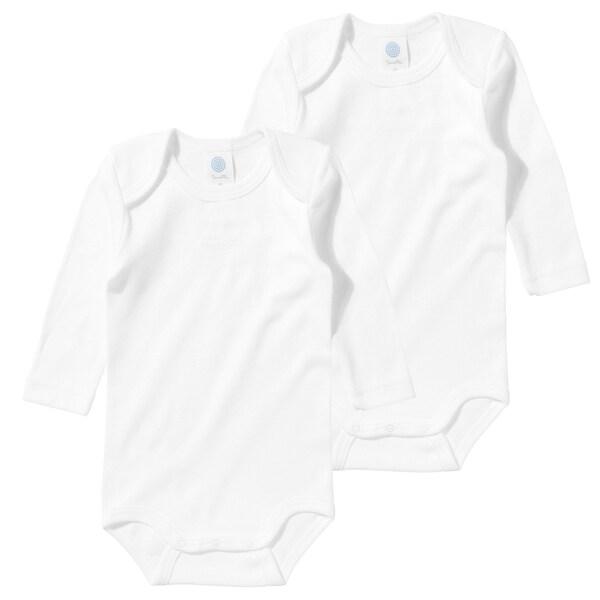 Sanetta Sanetta Baby Bodys Doppelpack Organic Cotton