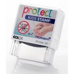 Colop Protect Kids Handwasch-Stempel mit Monstervirus-Motiv - Animation zum Händewaschen mit Seife