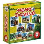 Piatnik Memo Domino Traktoren