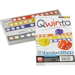 Nürnberger Spielkarten Qwinto Zusatzblöcke 2er Pack