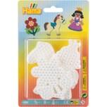 Hama Perlen 4571 Midi-Stiftplatten Pony Blume Prinzessin