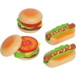 Hape Hamburger und Hotdogs Spiellebensmittel