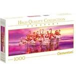 Clementoni Panorama Puzzle 1000 Teile - Flamingos