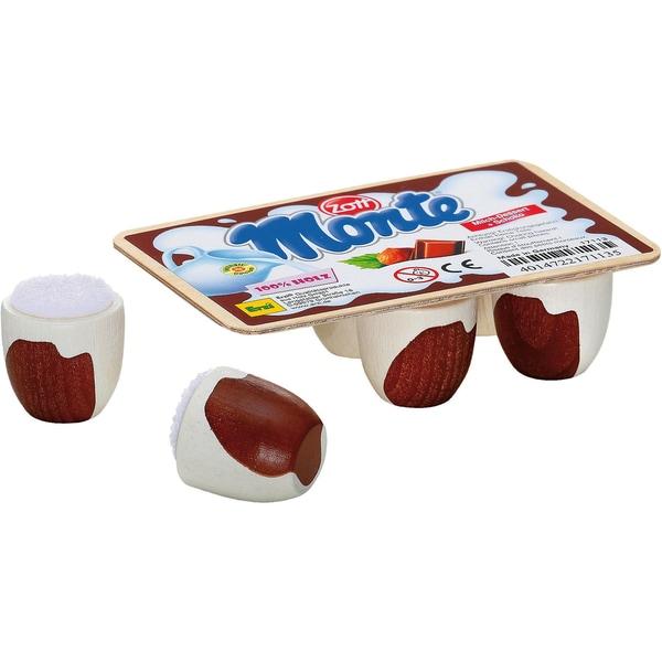 Erzi Spiellebensmittel Schoko-Milch-Dessert Monte von Zott