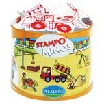 Aladine Stampominos Midi-Stempelset Baustelle 11-tlg.
