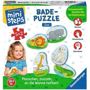 Ravensburger Ministeps® Bade-Puzzle Zoo 5x2 Teile