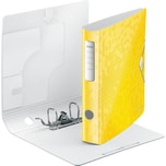 LEITZ Aktenordner Polyfoam 1107 Active WOW gelb A4 180° Breite 6 cm