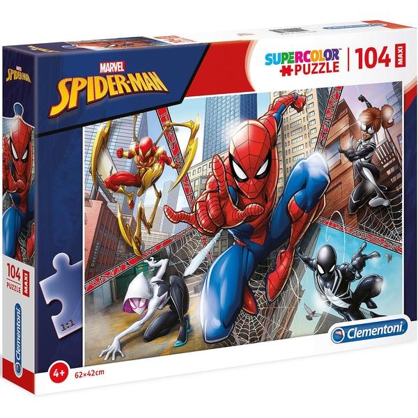 Clementoni Puzzle 104 Teile Maxi Spiderman