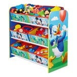 WORLDS APART 6-Boxen Regal Mickey Donald