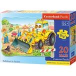 Castorland Puzzle 20 Teile Kontur Maxi Bagger