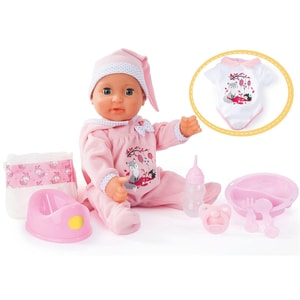 myToys Trin und Näss-Baby Ella inkl. Zubehör