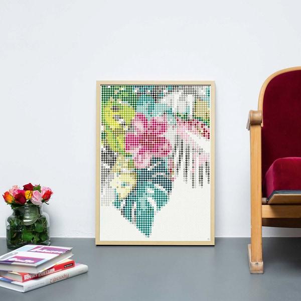 dot on art - tropic 50 x 70 cm