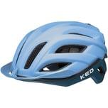 KED Helmsysteme Fahrradhelm Champion visor blue matt