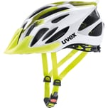 Uvex Fahrradhelm flash white lime