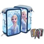 Doppel-Federmäppchen Disney Die Eiskönigin