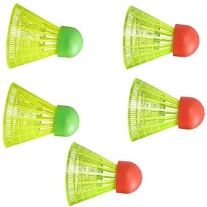 Hudora Ersatzbälle für Badmintonset HS-22 5 Stück