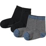 Esprit Kinder Socken Doppelpack Gestreift