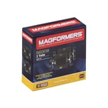 Magformers Räder mit Grundplatte Set 2