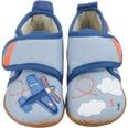 Giesswein Baby Hausschuhe Spall für Jungen Flugzeug
