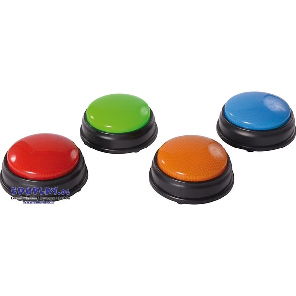 Eduplay Buzzer mit Licht 4 Stück