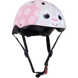 kiddimoto Fahrradhelm - Pink Bunny Rosa Hase - S 53-58cm