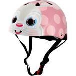 kiddimoto Fahrradhelm Pink Bunny