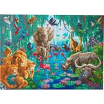 CRAFT Buddy Crystal Art Dschungel-Sammlung 90 x 65 cm Kristallkunst