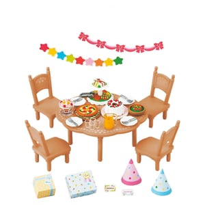 Epoch Traumwiesen Sylvanian Families Party-Set