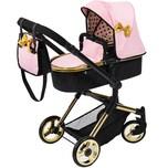 BAYER Kombi-Puppenwagen Vario schwarzgold