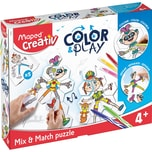 Maped Maped Puzzle COLOR PLAY