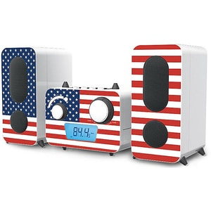 Bigben Stereo Music Center MCD11 mit USB weiß