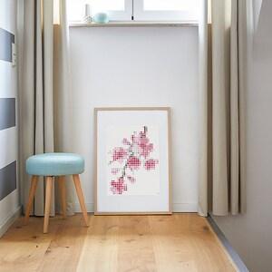 dot on art- blossom 30 x 40 cm