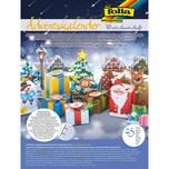 Folia Adventskalender Winterlandschaft 25-tlg.