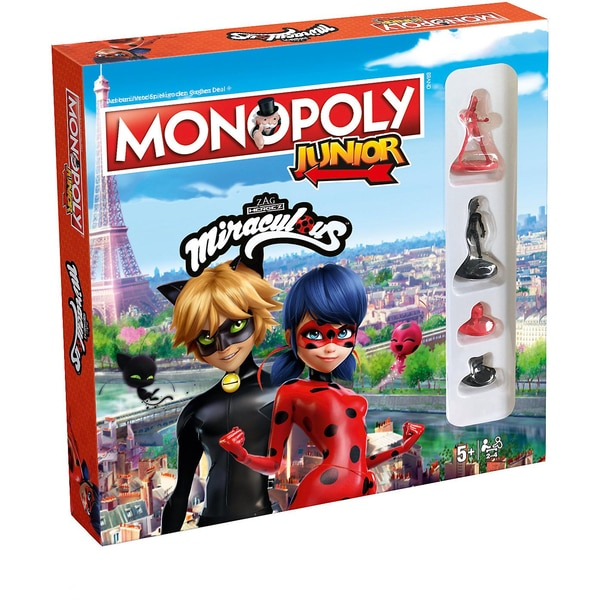 Winning Moves Monopoly Junior Miraculous