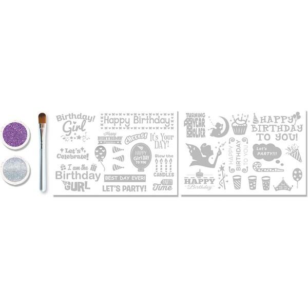 KNORRTOYS.COM GLITZA PARTY - Starter Set Birthday Girl