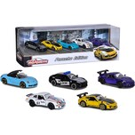 Majorette Porsche 5-teiliges Geschenkset