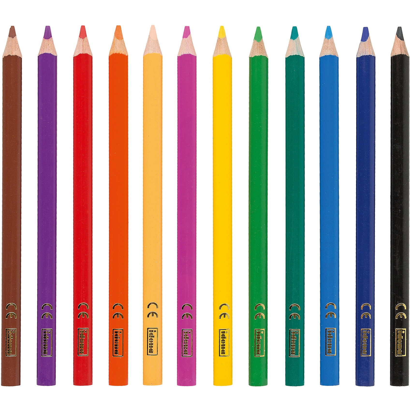 Idena Buntstifte 12 Farben
