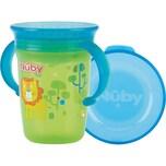 Nuby 360° Trinklerntasse Mit Griffen Wonder Cup 240 Ml Green