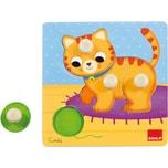 Goula Holzpuzzle Katze