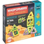 Magformers Creator Raumfahrt-Set 35T bunt plus Booklet