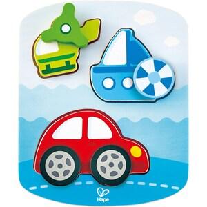 Hape Dynamisches Fahrzeugpuzzle