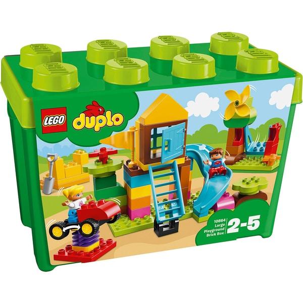 LEGO Duplo 10864 Steinebox mit großem Spielplatz