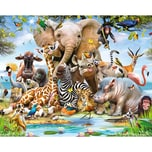 Walltastic Wandsticker Jungle Safari